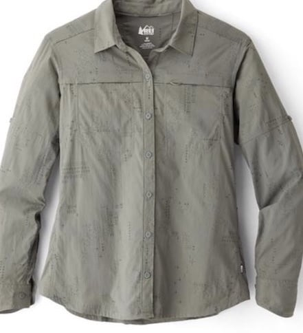 7ac1e482227b It s all built for being active whether that s hiking or going on a safari.  This lightweight shirt from REI is made from polyester fabric that resists  ...