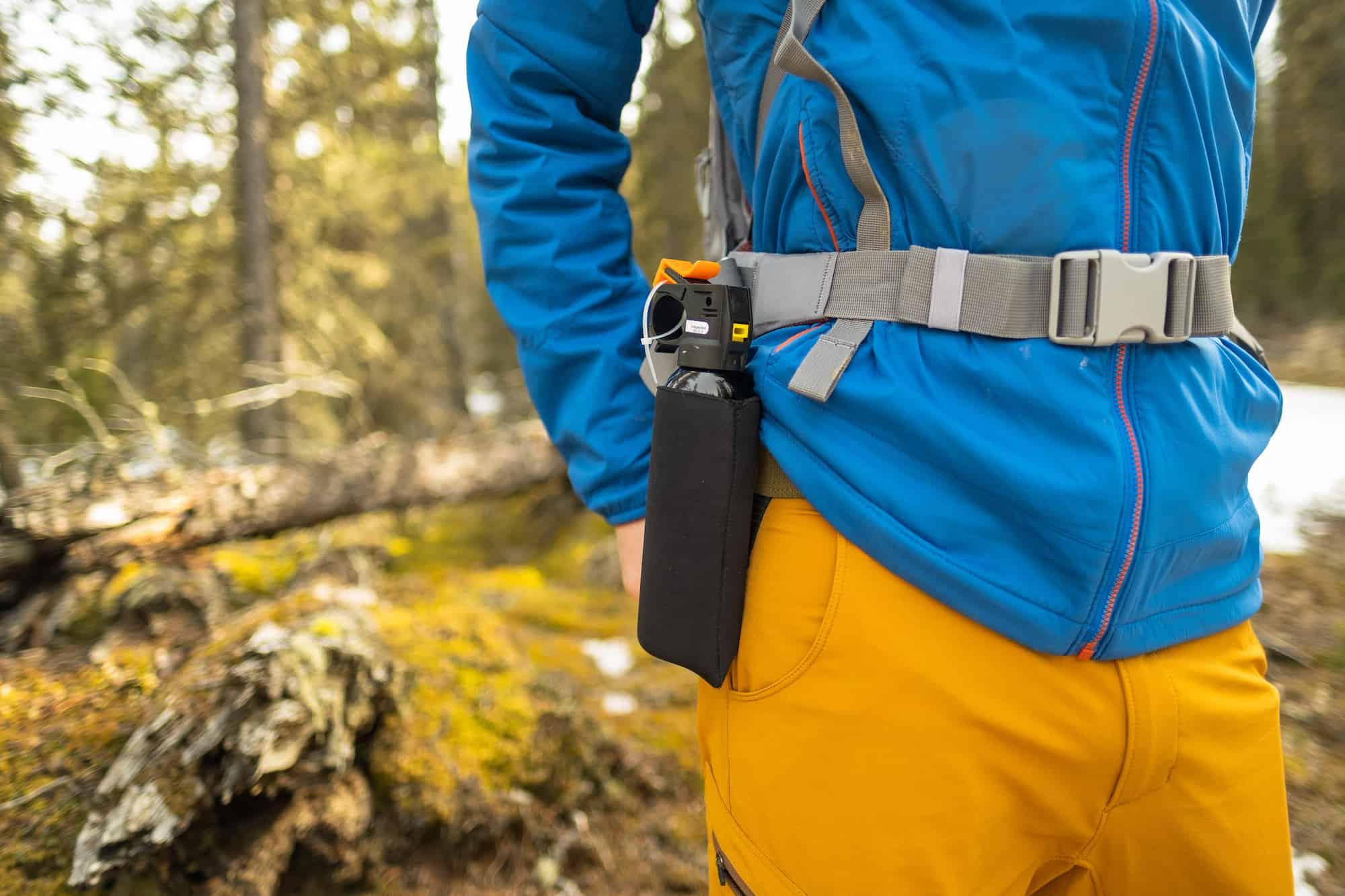 Bear Spray - Hiking in Banff
