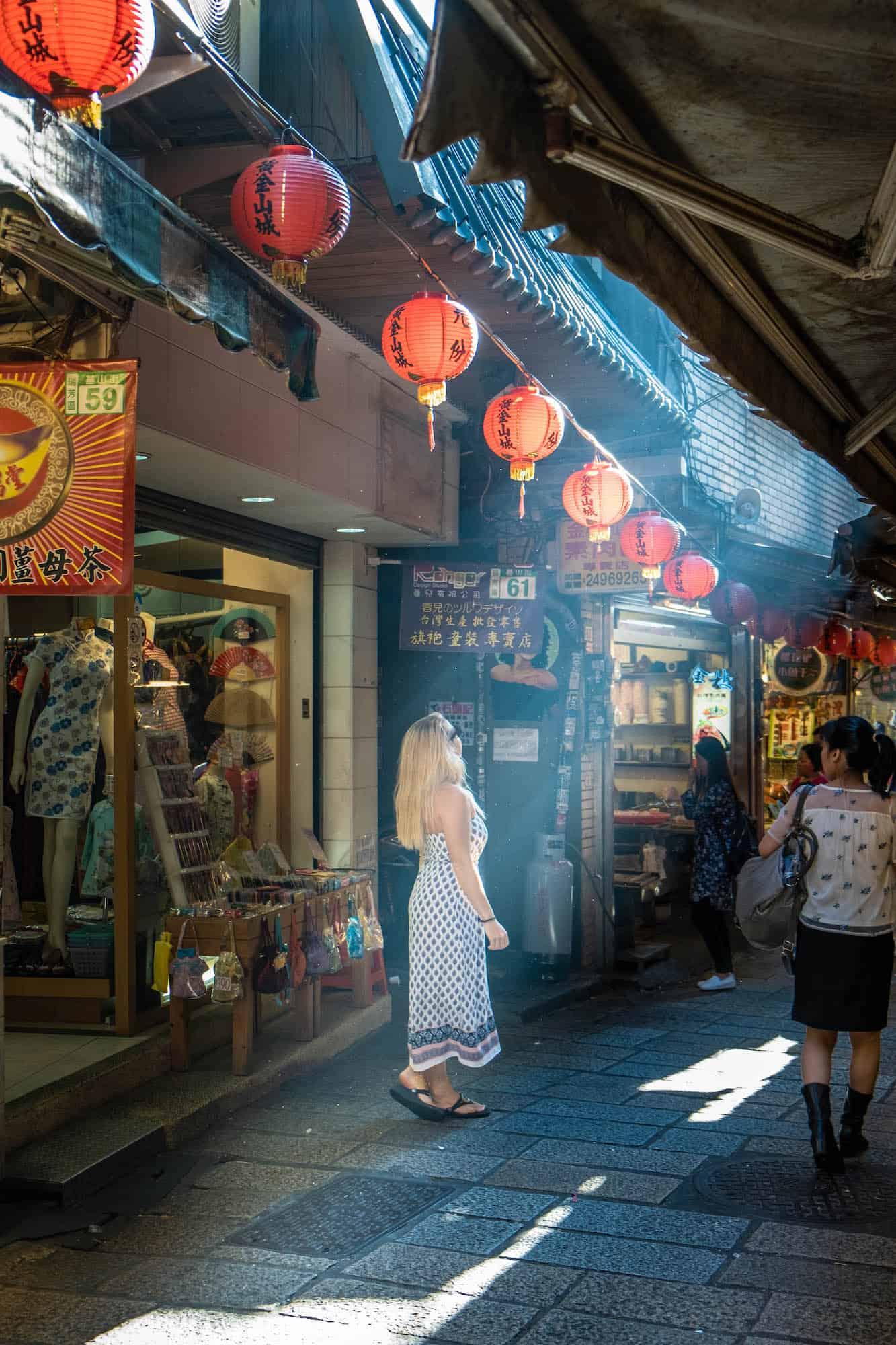 Jiufen Alley - Travel Taiwan
