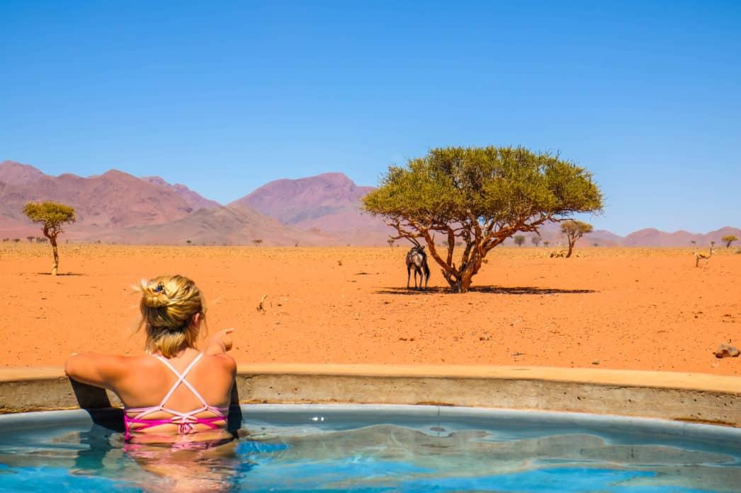 Natasha in Namibia