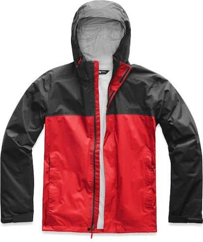 North Face Men's Tall Venture 2 Rain Jacket