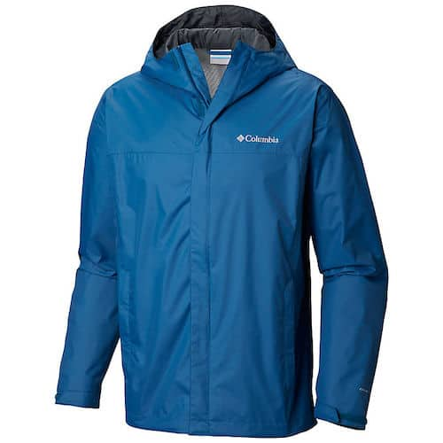 Packable Rain JAcket - Columbia Men's Watertight II Jacket