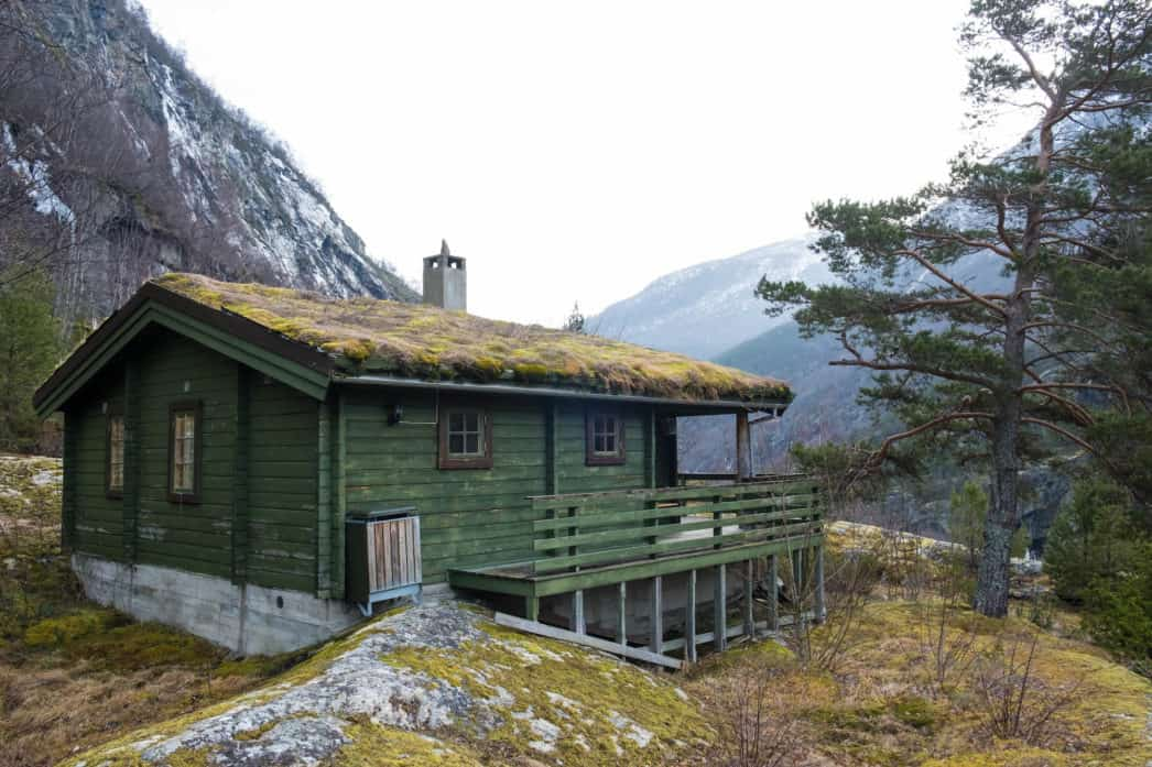 Rustic Cabin — Winter in Norway