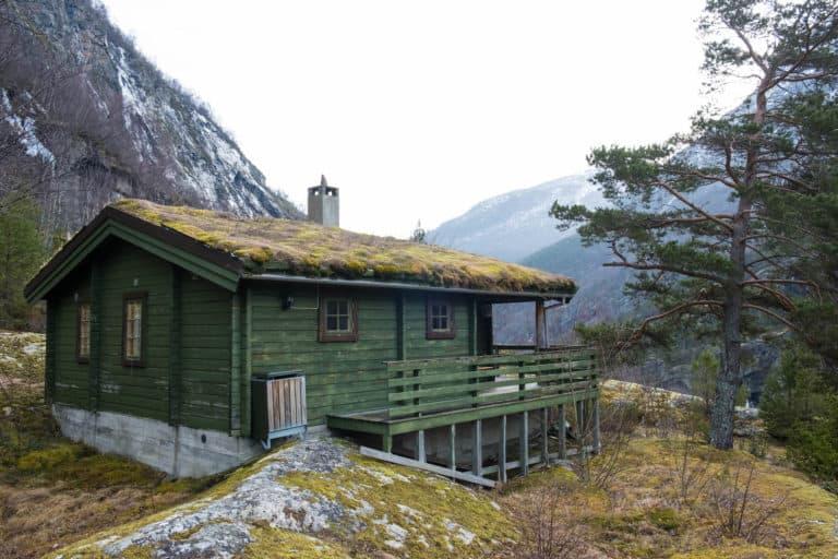 Rustic Cabin — Winter in Norway