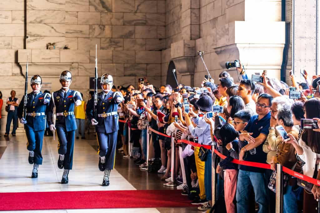 Taiwan Travel - Changing of Guards