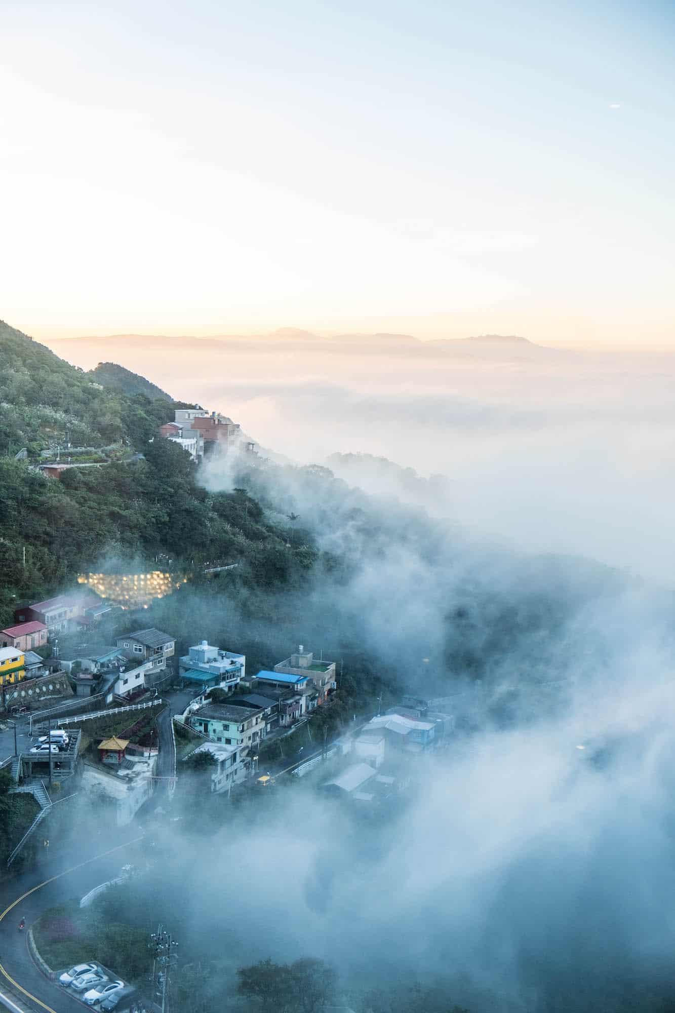 Taiwan Travel - Cloudy Landscape