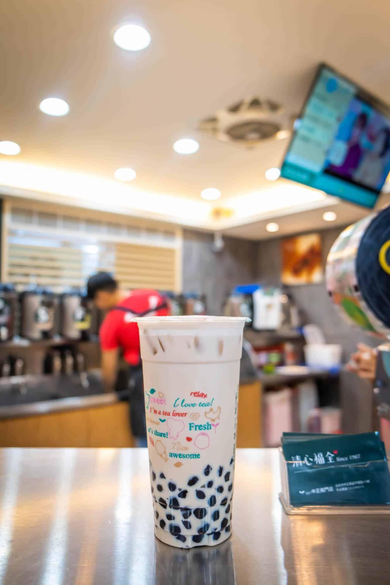 Travel Taiwan - Bubble Tea