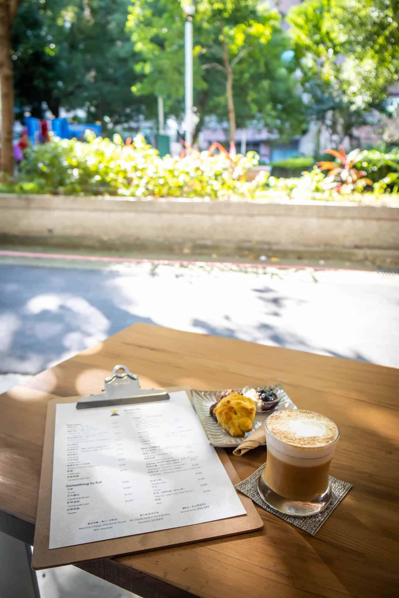 Travel Taiwan - Coffee in Park