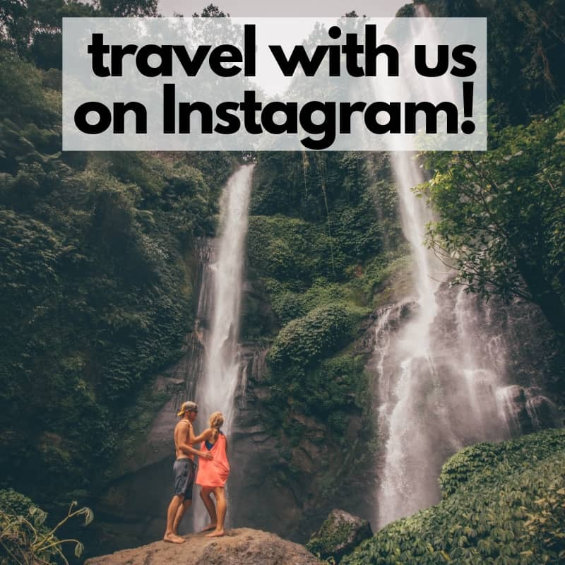 travel with us on Instagram!