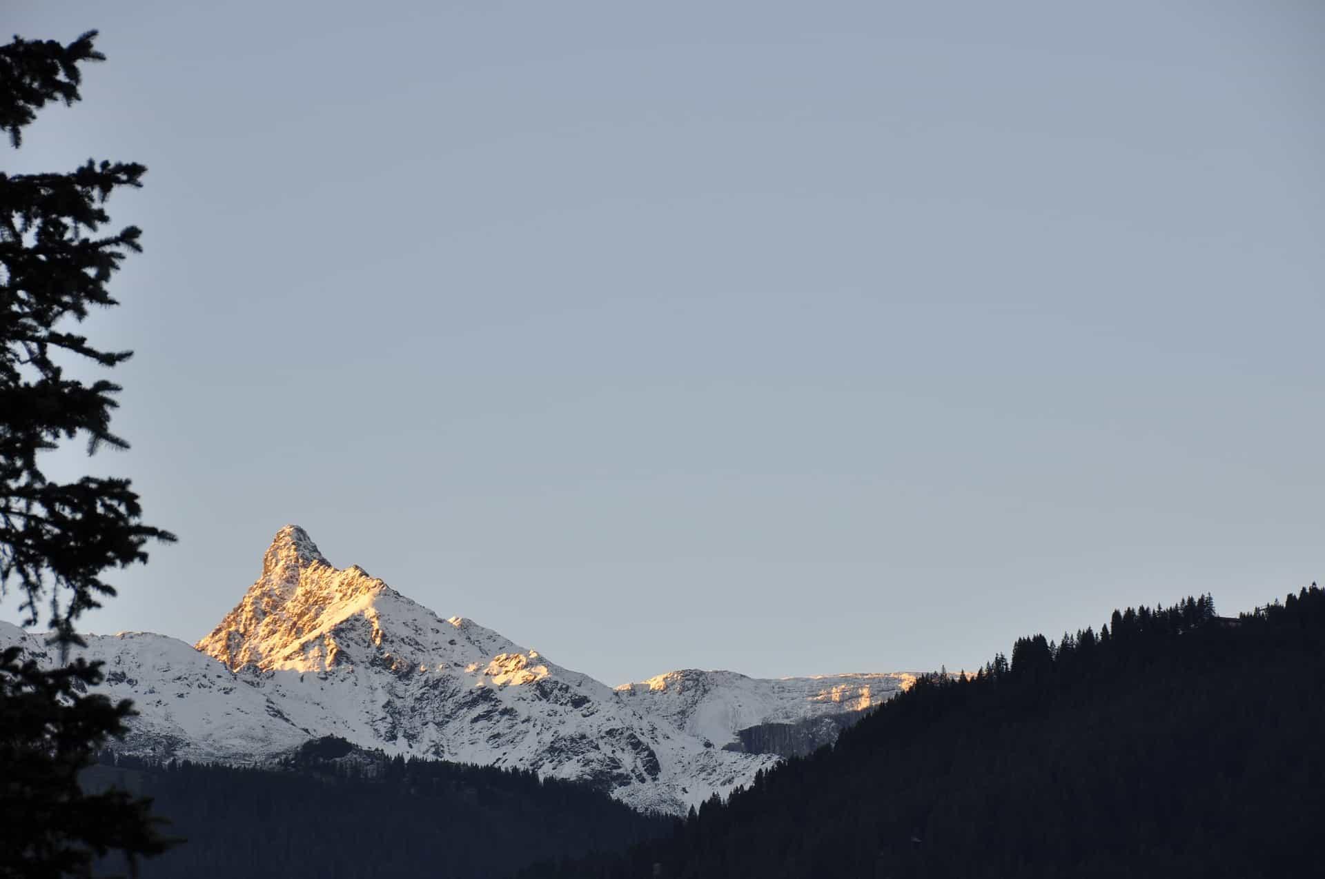 Hiking in Switzerland - Schwarzhorn