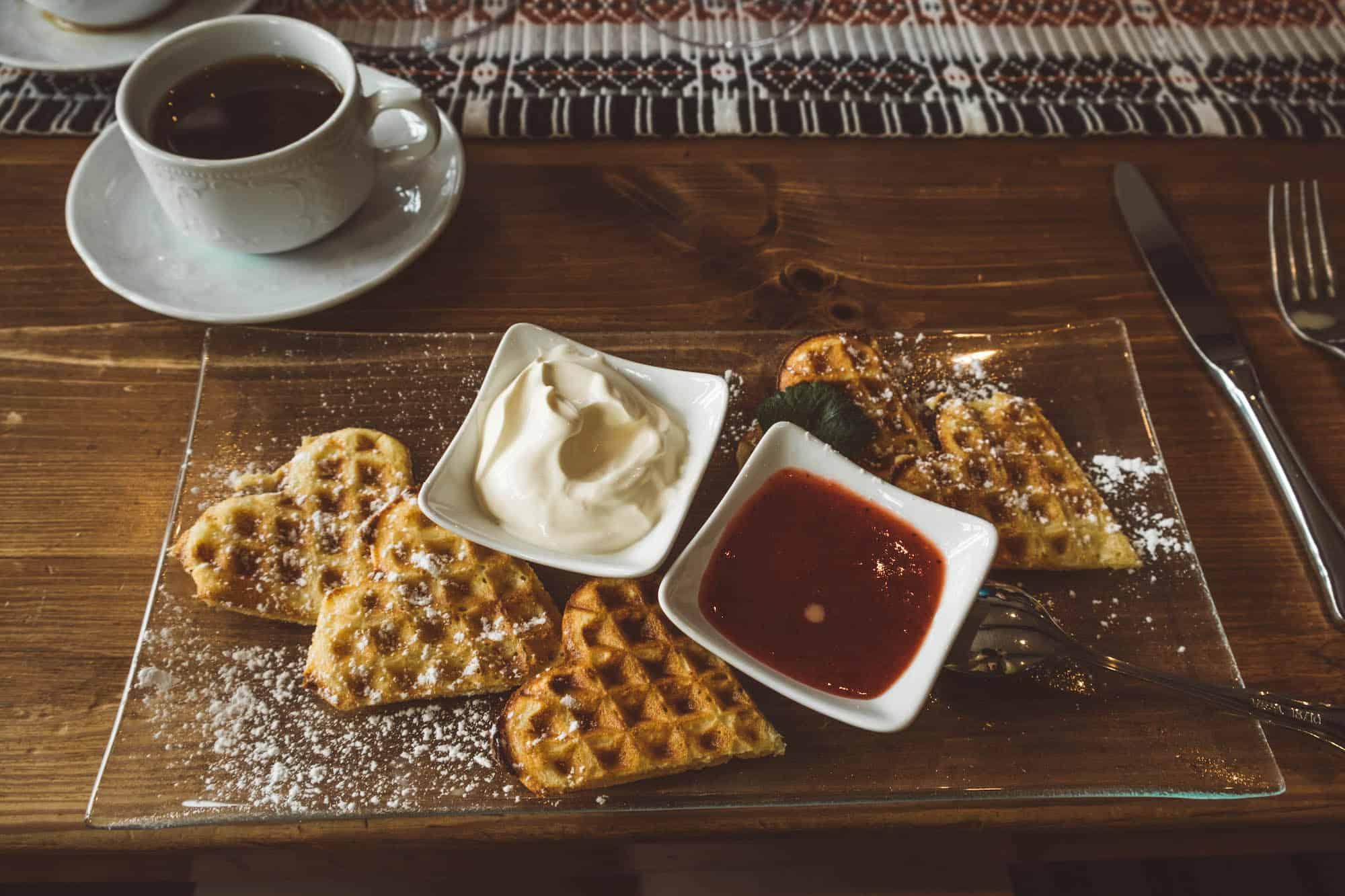 Winter in Norway — Waffles
