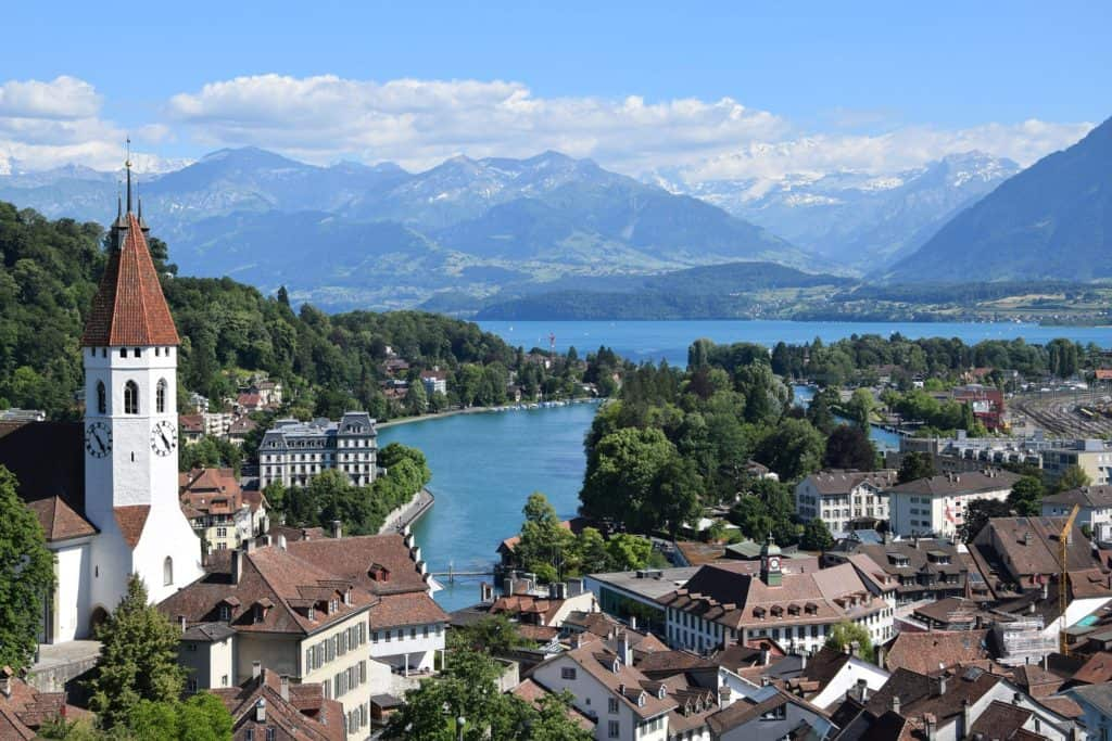 Best Places in Switzerland Thun