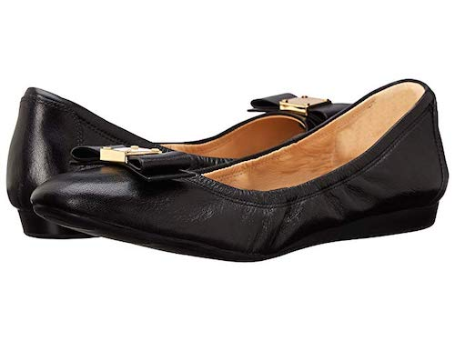 Walking Shoes Ballet Flats Black