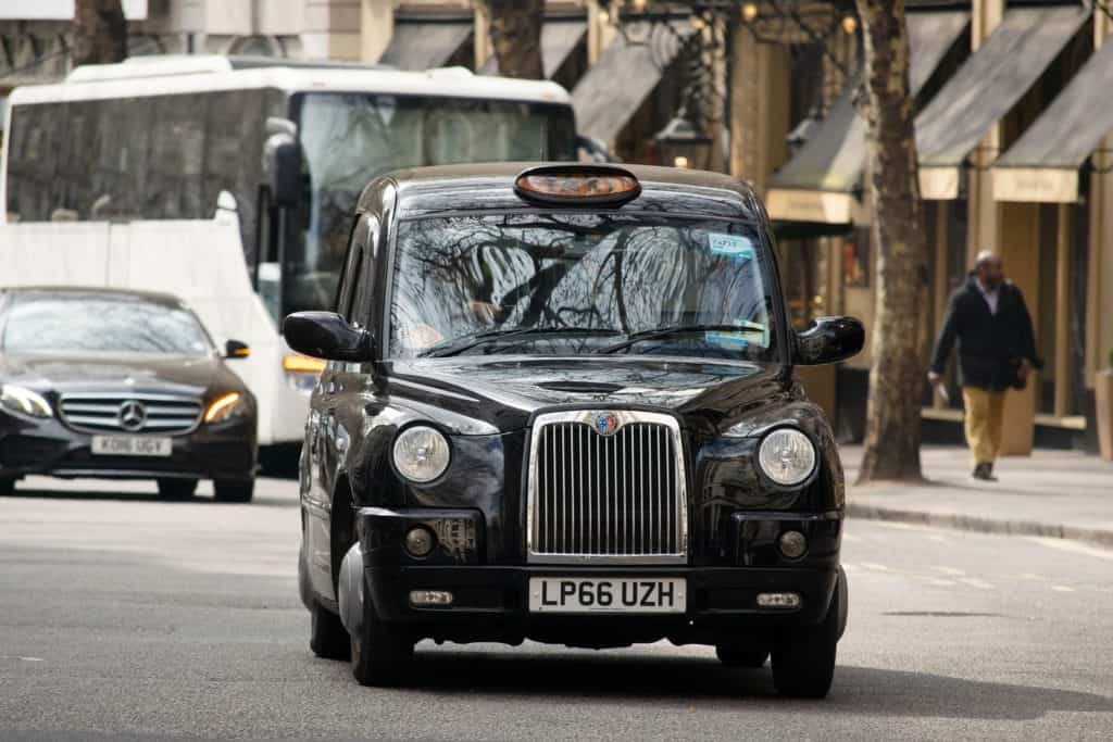 London Three Day Itinerary Black Cab