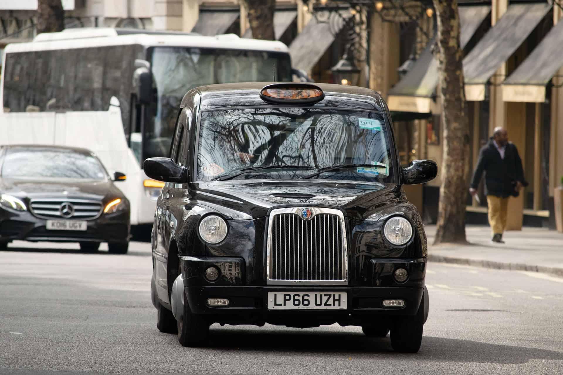 London Three Day Itinerary Black Cab