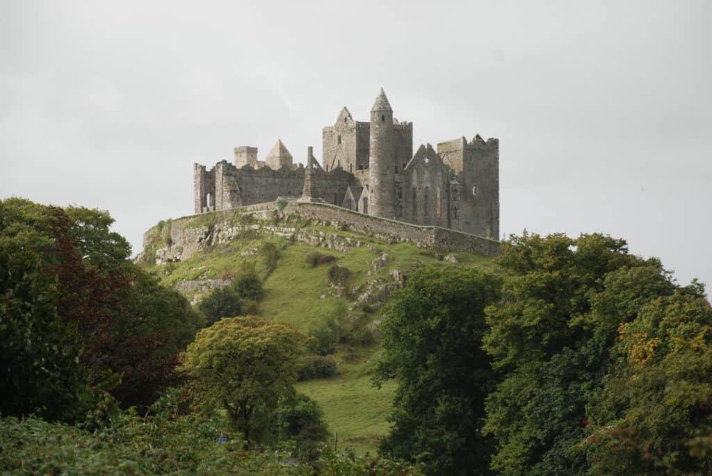 Rock of Cashel Castle in Ireland