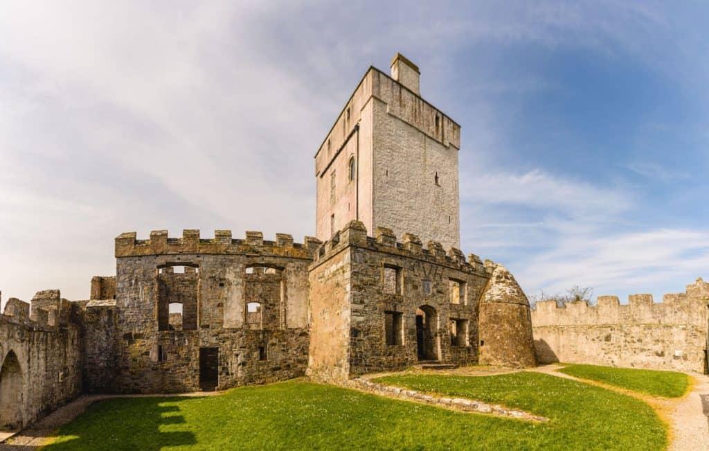 Doe Castle in Ireland