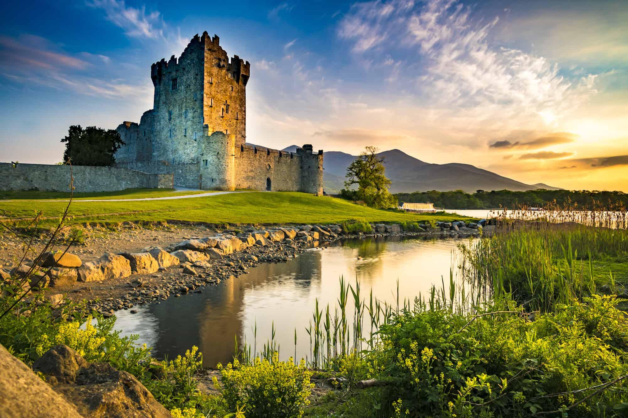 The Best Castles in Ireland Ross Castle