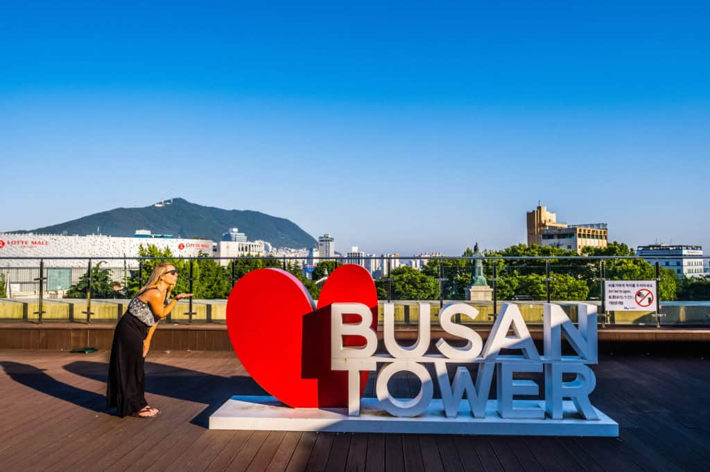 Things to do in Busan - Busan Tower