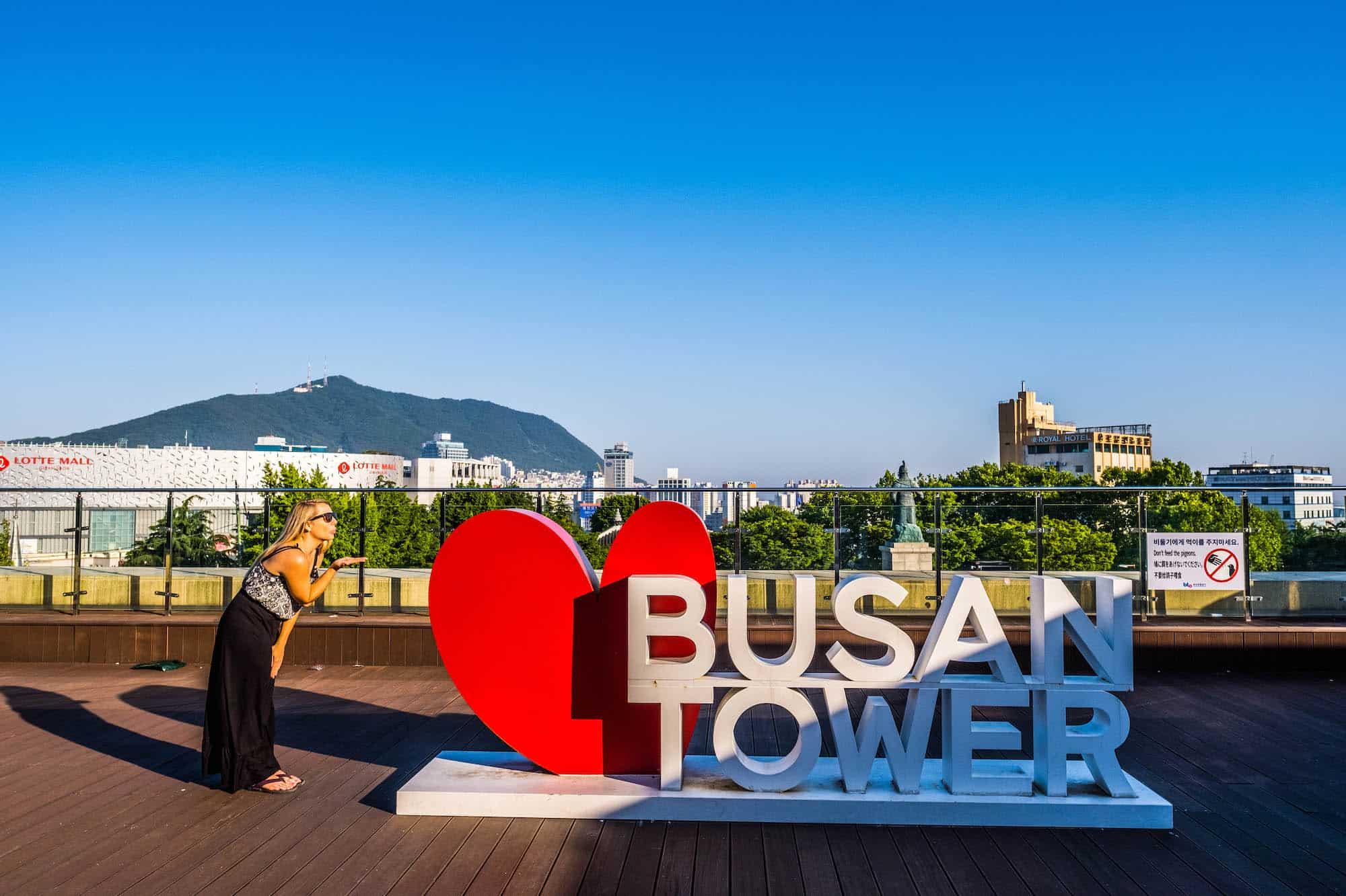 Things to do in Busan - Busan Tower
