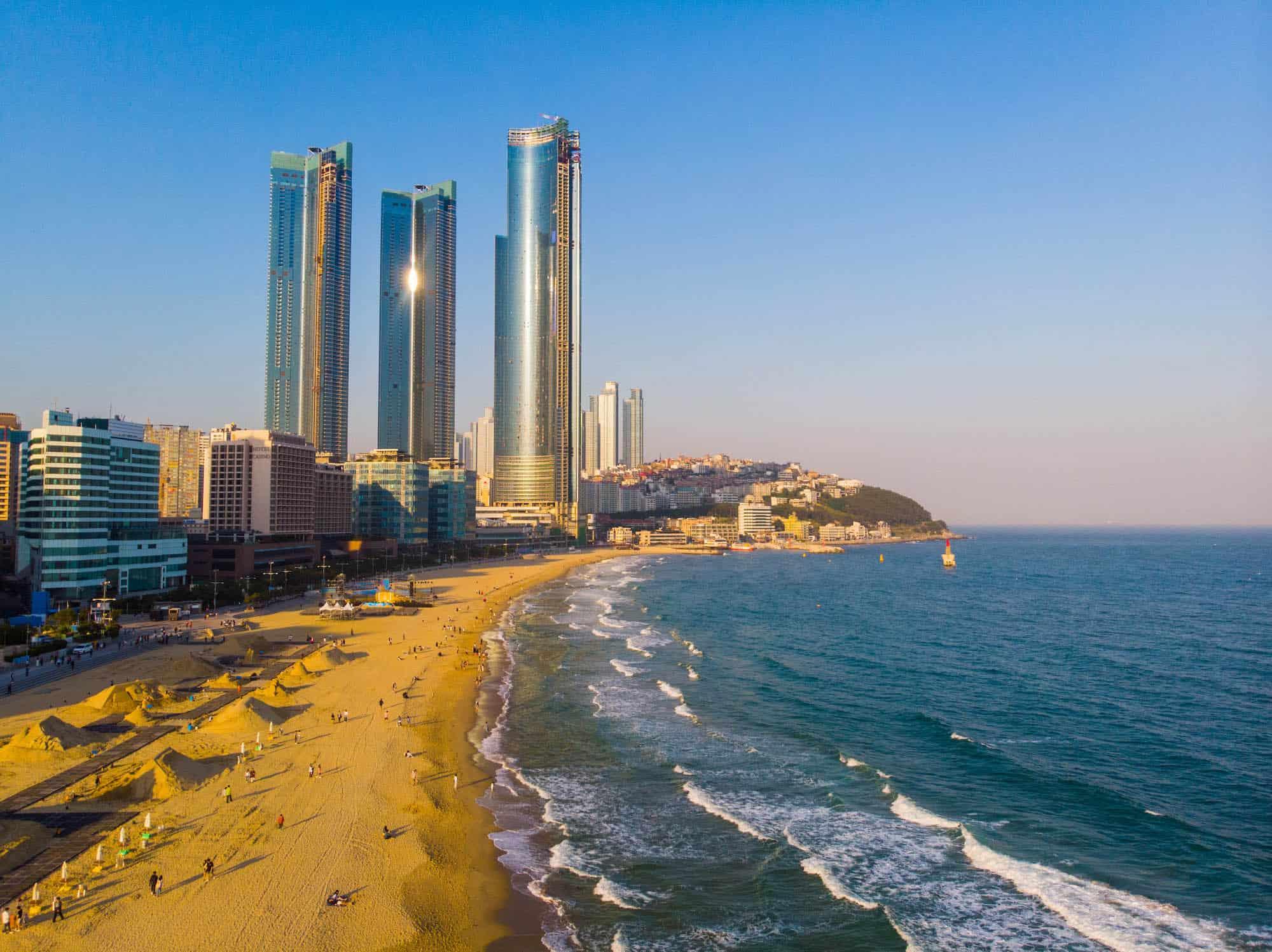 Things to do in Busan - Haeundae Beach