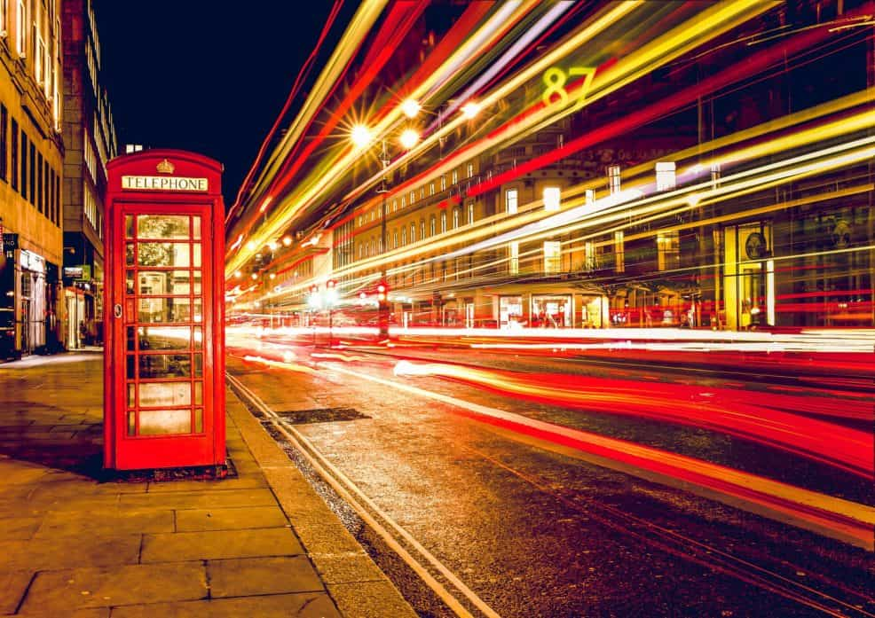 Three Day London Itinerary Night Long Exposure