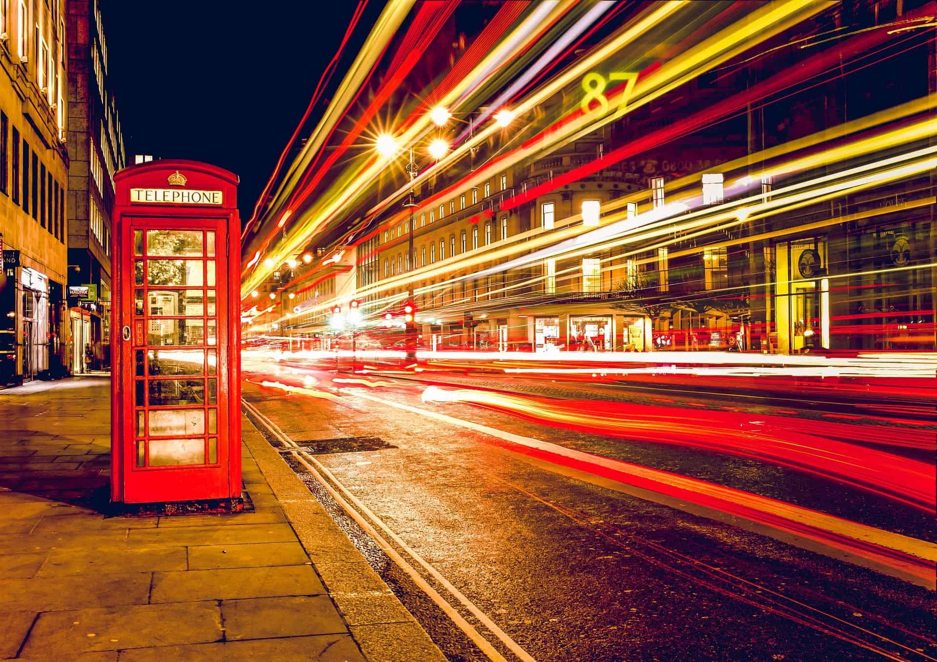 Three Day London Itinerary Night Long Exposure