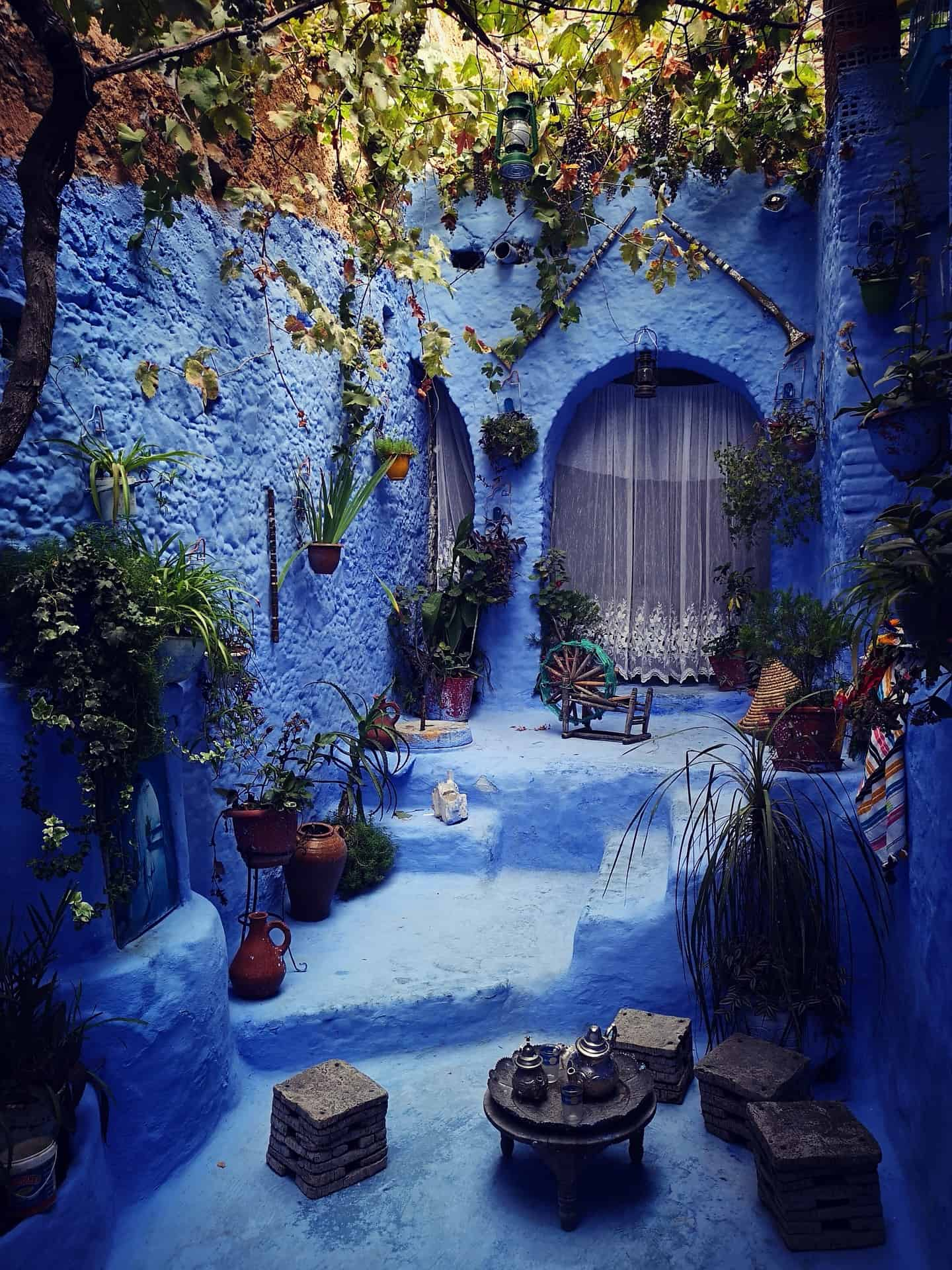 Chefchaouen in Morrocco