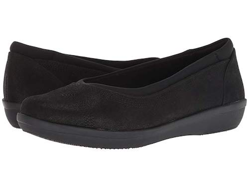 Clarks Ayla Low Comfortable Flats