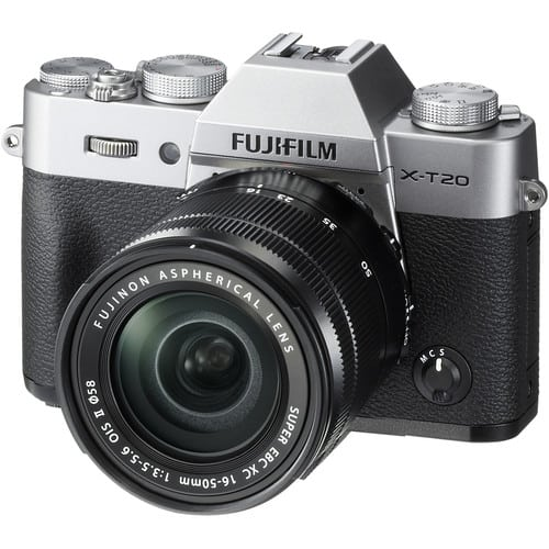 Fuji X-T20 Best Cameras For Blogging
