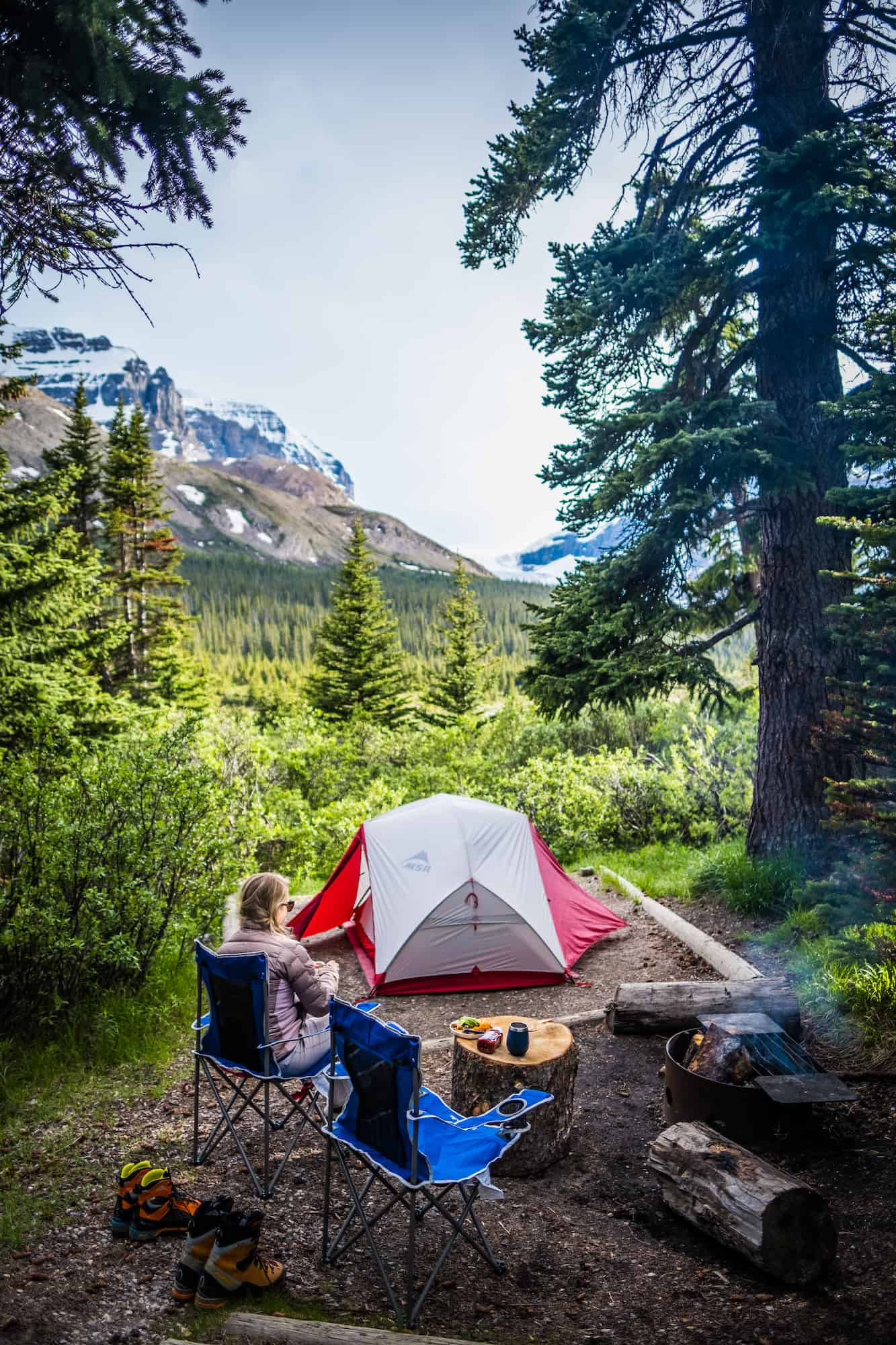 Icefields Parkway Camping