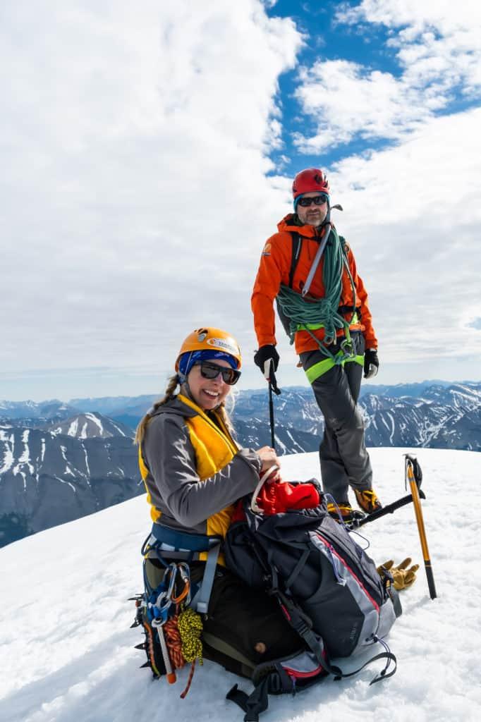Hiking Jackets on Athabasca