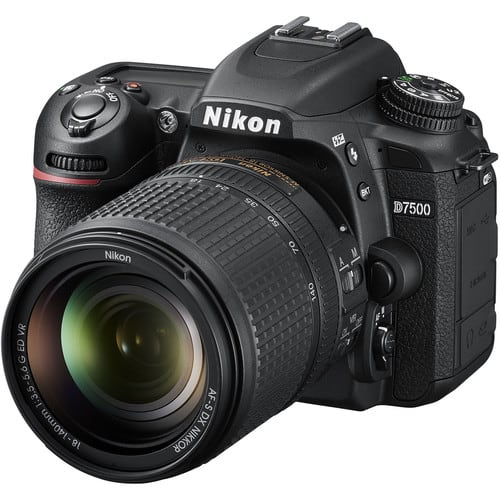 Nikon D7500 Best Cameras For Blogging TRavel