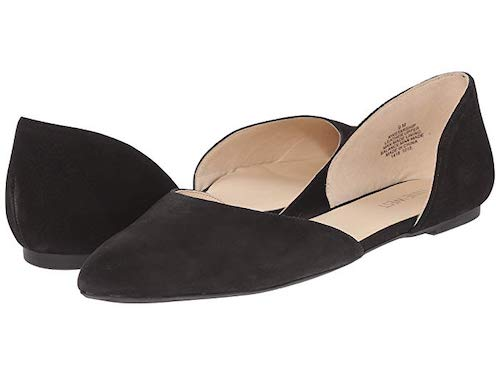 Nine West Starship D'Orsay Flat Comfortable Flat