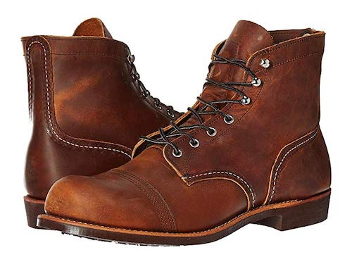 Red Wing Heritage Iron Ranger Mens Travel Boots