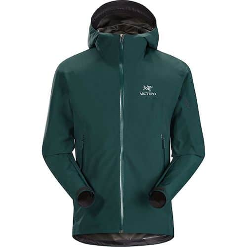 Arc'teryx Zeta SL Best Packable Rain Jacket For Travel