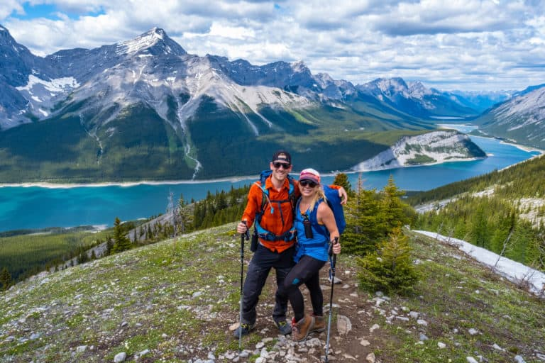 Best Hiking Poles The World Pursuit Cameron and Natasha