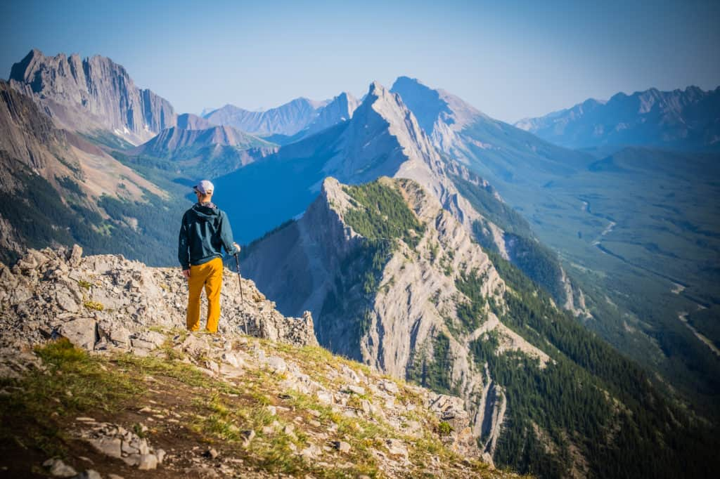 Cameron Hiking in The Canadian Rockies