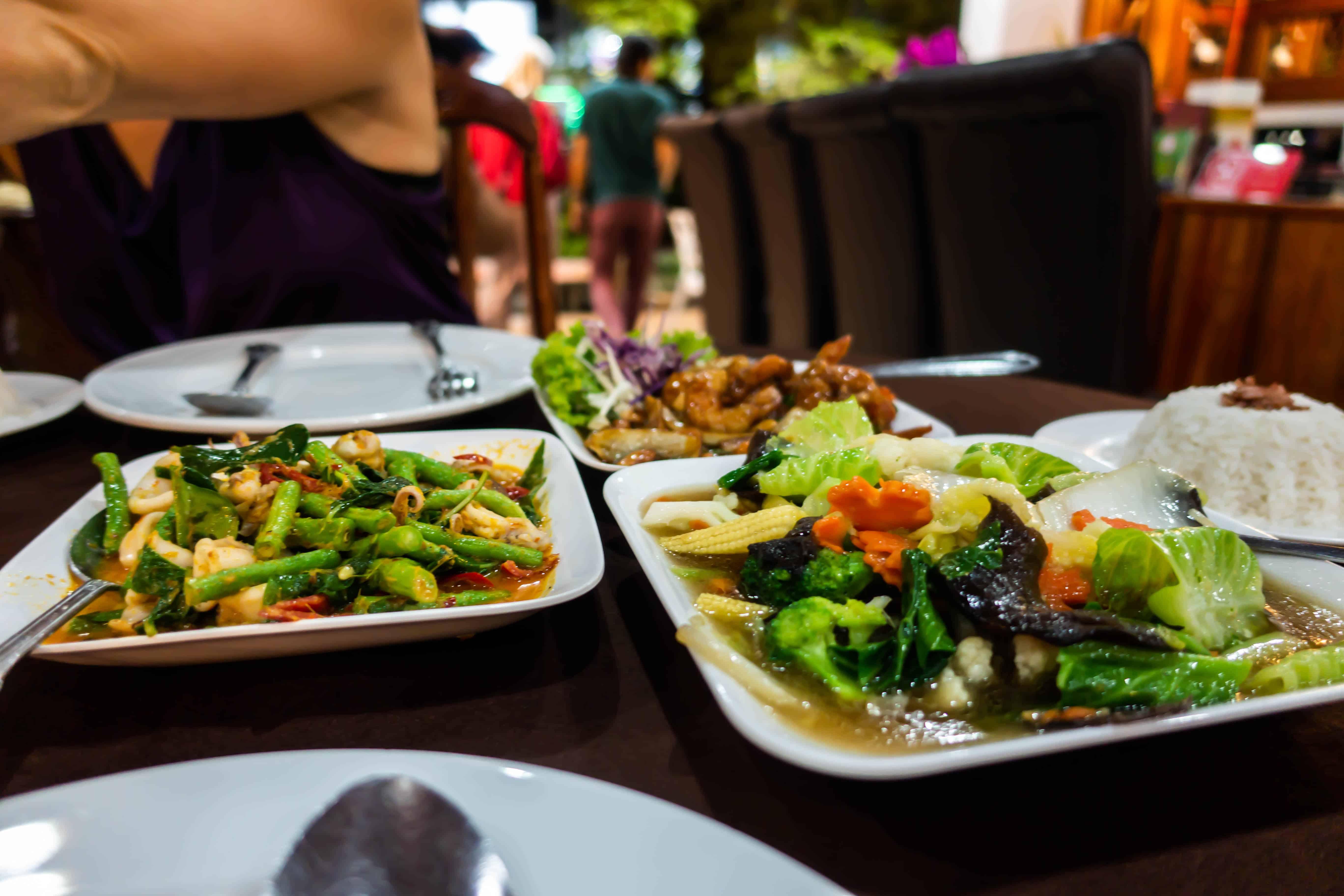 Eating on Langkawi