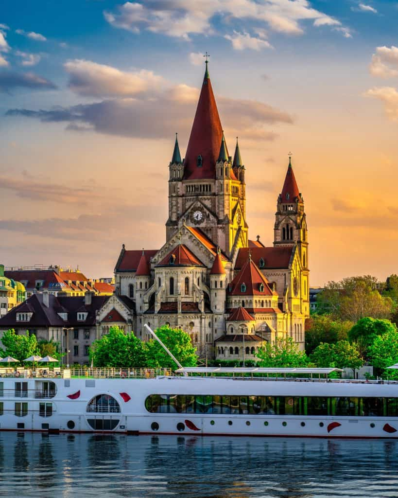 Most Beautiful Cities in Europe Vienna, Austria