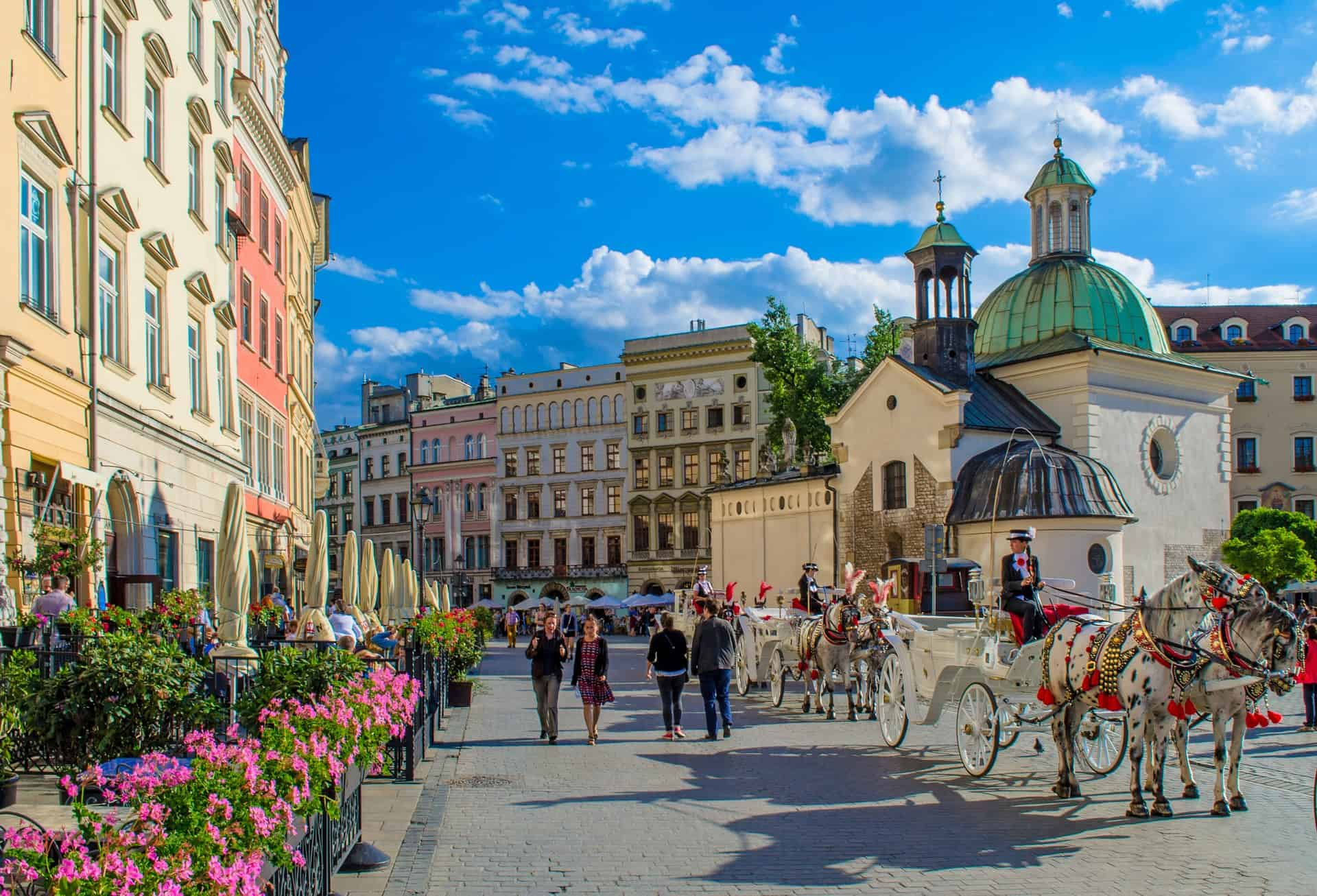 Most Beautiful Cities in Europe Krakow Poland