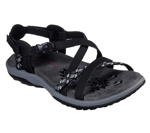 Sketchers Reggae Slim Vacay Best Women's Walking Sandals