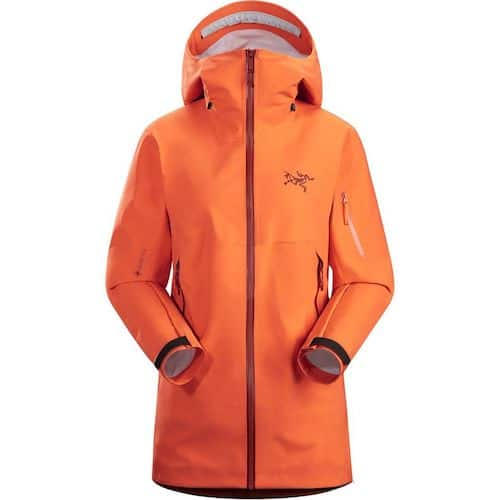 Arc'teryx Sabre AR Shell JAcket Ski Trip Packing List