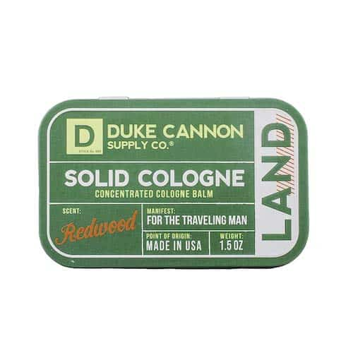 Solid Cologne Travel Gift