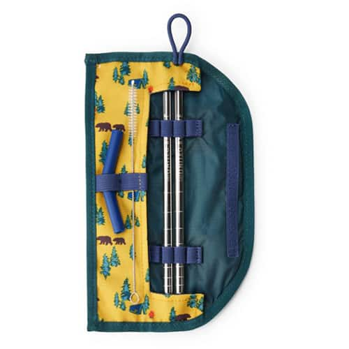 United By Blue Steel Creek Reusable Straw Case