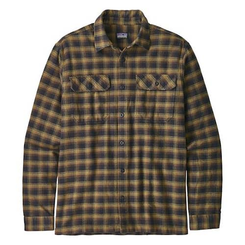 Patagonia Fjord Flannel Shirt Eco Friendly Gifts