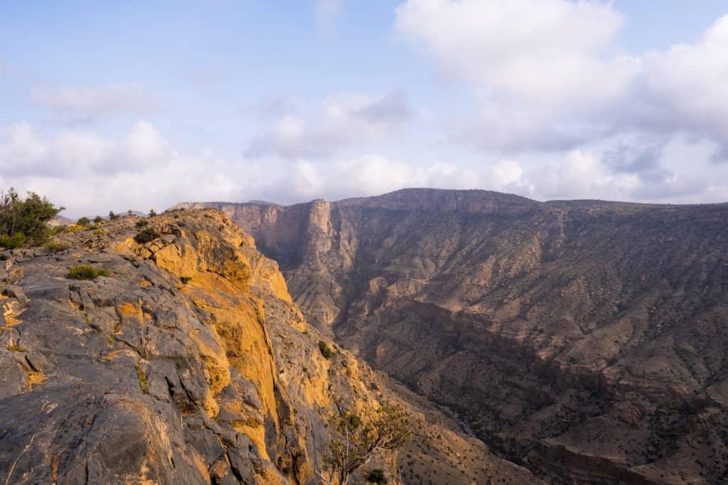 Oman travel mountains