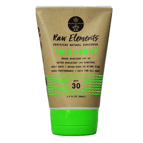 Raw Elements Eco Sunscreen Sustainable Gift