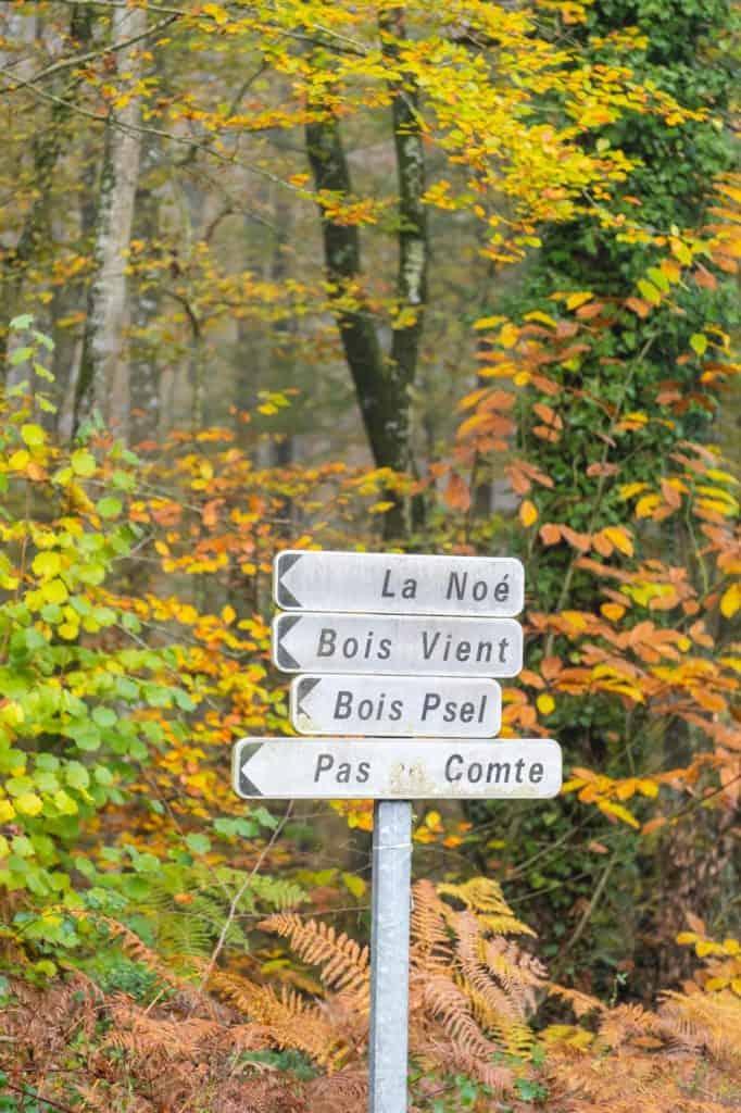 Street Sign France