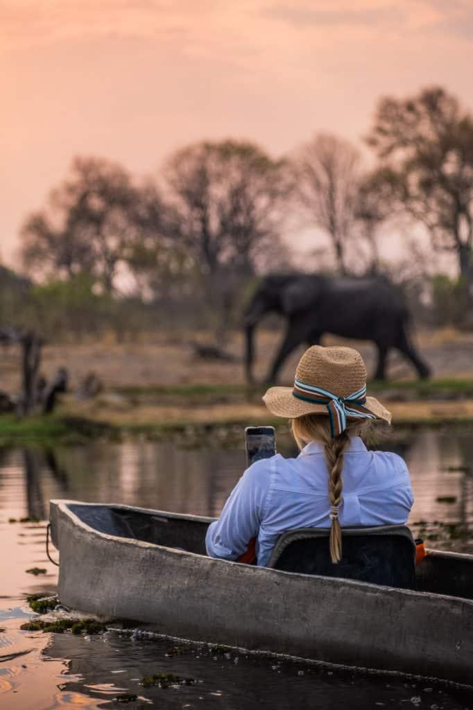 Mokoro Rides in Botswana